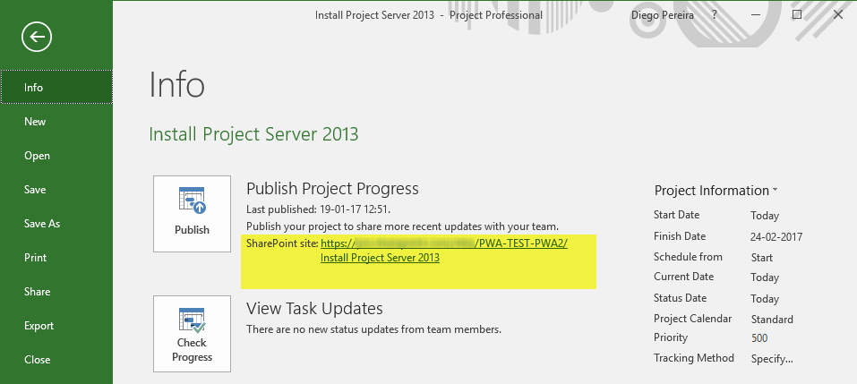 Creating Deliverables using Microsoft Project Professional